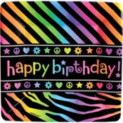 Neon Birthday Party Supplies
