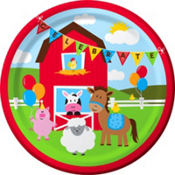 Farmhouse Fun 1st Birthday Party Supplies