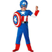 Toddler Boys Captain America Costume