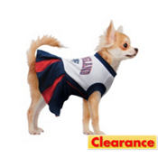 New England Patriots NFL Dog Cheerleader Costume