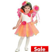 Toddler Girls Fuchsia Daisy Fairy Princess Costume