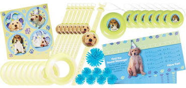 Party Pups Favor Pack 48pc