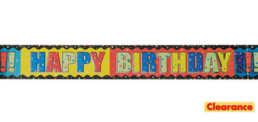 Birthday Banner - A Year to Celebrate