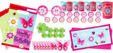 Garden Girl Party Favor Value Pack with 48 pieces