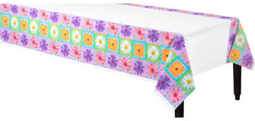 In Bloom Plastic Table Cover