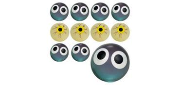 Eye Bounce Balls 24ct