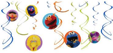 Sesame Street Danglers 12ct