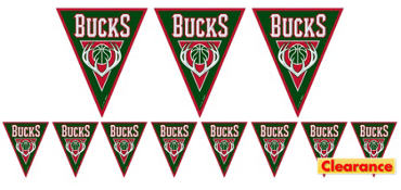 Milwaukee Bucks Pennant Banner