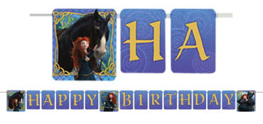Brave Birthday Banner 8ft