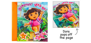 Premium Dora the Explorer Invitations 8ct