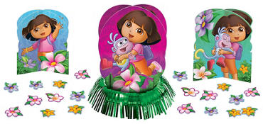 Dora the Explorer Centerpiece Kit 23pc