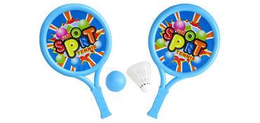 Toy Racket Set 4pc