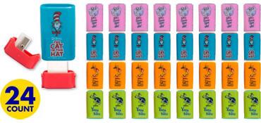 Dr. Seuss Pencil Sharpeners 24ct