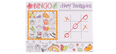 Thanksgiving Activity Sheets 30ct