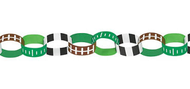 Football Chain Link Garland
