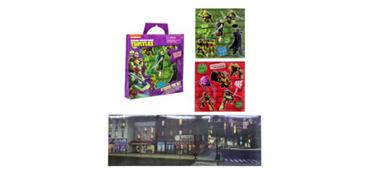 Teenage Mutant Ninja Turtles Sticker Activity Kit