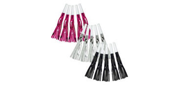 Black & Pink Fringe Squawkers 30ct