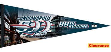 Indy 500 Pennant Flag