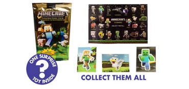 Minecraft Stickers Mystery Pack