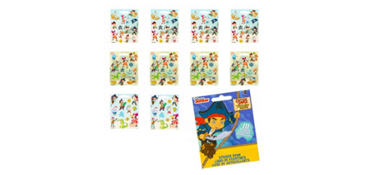 Jake and the Never Land Pirates Sticker Book 9 Sheets