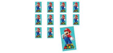 Jumbo Super Mario Sticker 24ct