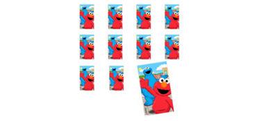Jumbo Sesame Street Stickers 24ct