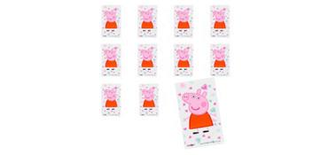 Jumbo Peppa Pig Stickers 24ct