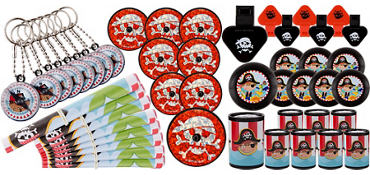 Little Pirate Favor Pack 48pc