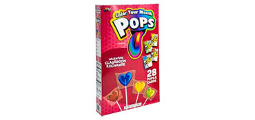 Crayola Color Your Mouth Exchange Cards with Lollipops 28ct