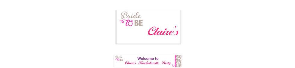 Classy Bride Bachelorette Party Supplies