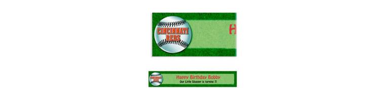 Custom Cincinnati Reds Banner 6ft