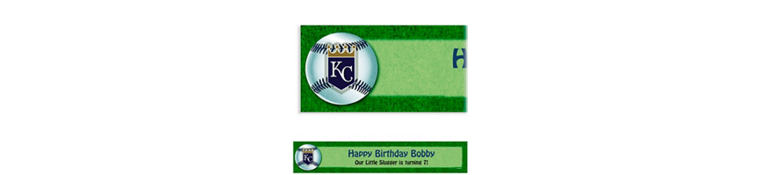Kansas City Royals Custom Banner 6ft