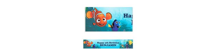 Nemo and Friends Custom Banner 6ft