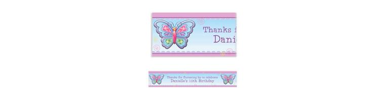 Fluttering Butterfly Custom Banner 6ft