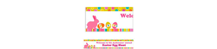 Easter Expressions Custom Banner 6ft
