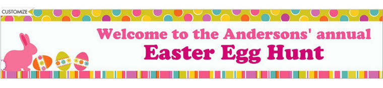 Easter Expressions Custom Banner