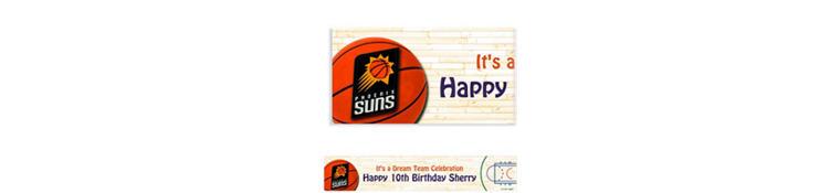 Custom Phoenix Suns Banner 6ft