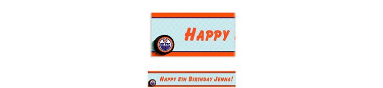 Edmonton Oilers Custom Banner