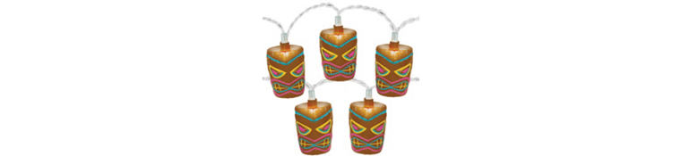 Outdoor String Lights Luau Patio Lights Party City