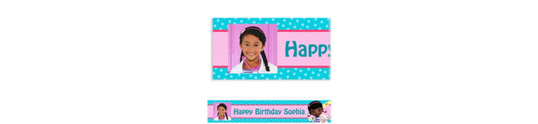 Doc McStuffins Custom Photo Banner