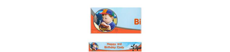 Planes Custom Photo Banner