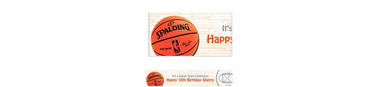 Custom NBA Spalding Banner 6ft