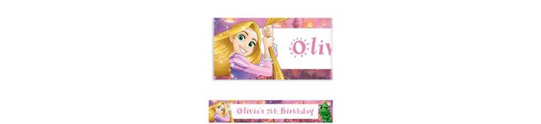 Custom Rapunzel Banner