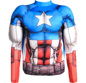 how to make your own captain america costume