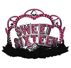 Sparkle Sweet 16 Tiara