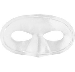 White Domino Mask