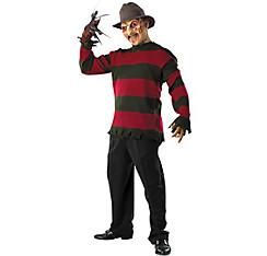 Adult Freddy Krueger Sweater Deluxe - Nightmare on Elm Street