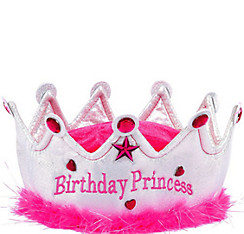 Plush Birthday Princess Crown