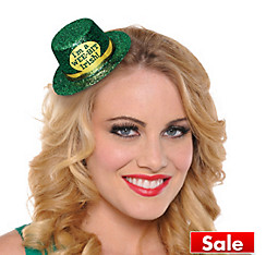 Wee Bit Irish Mini Top Hat