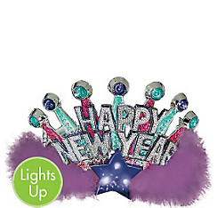 Light-Up New Year's Tiara